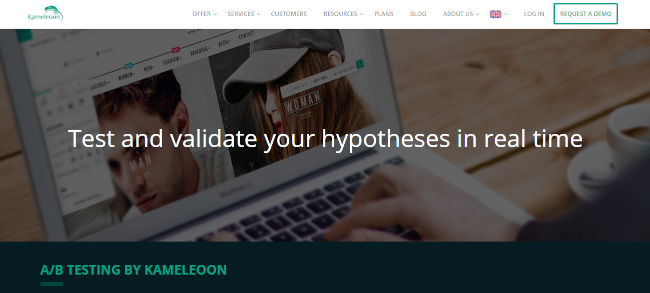 Mopinion: Top 20 A/B testing Tools that will boost conversions - Kameleoon