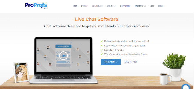 Mopinion: Top 20 Live Chat Software: An Overview - ProProfs