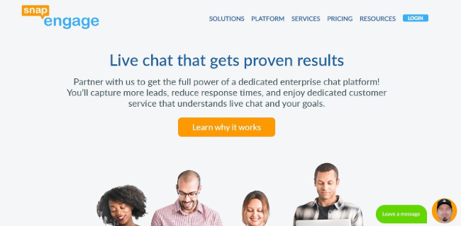 Mopinion: Top 10 Live Chat Software: An Overview - SnapEngage