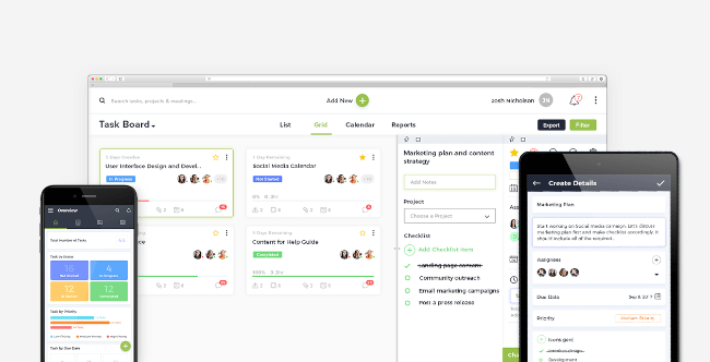 Mopinion: Top 10 Task Management Software: An Overview - nTask