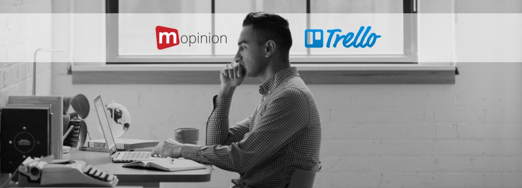 Mopinion: Next-level Productivity: Mopinion now integrates with Trello - Cover Image