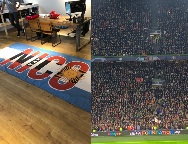 Mopinion: Employee in the Spotlight: Guus Linzel - Nico Flag in Stadium
