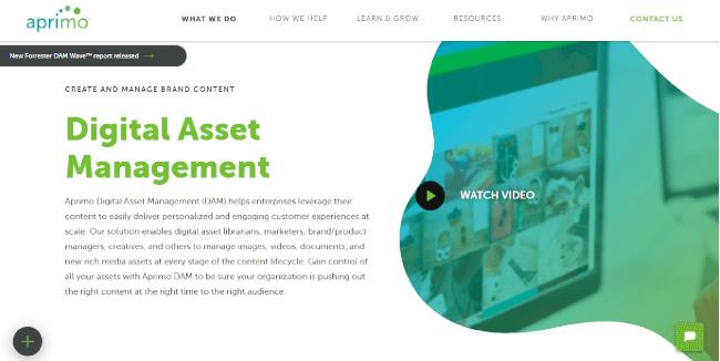 Mopinion: Top 20 Digital Asset Management (DAM) Software - Aprimo