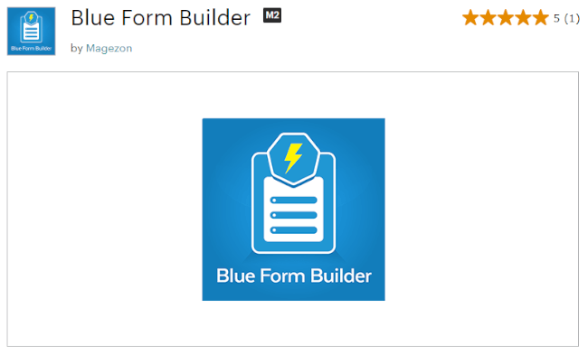 Mopinion: Top 10 Magento User Feedback Extensions  - Blue Form Builder