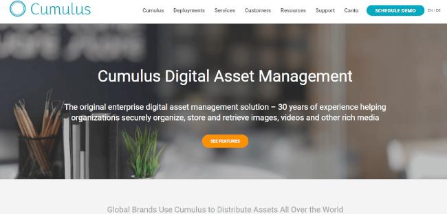 Mopinion: Top 20 Digital Asset Management (DAM) Software - Cumulus