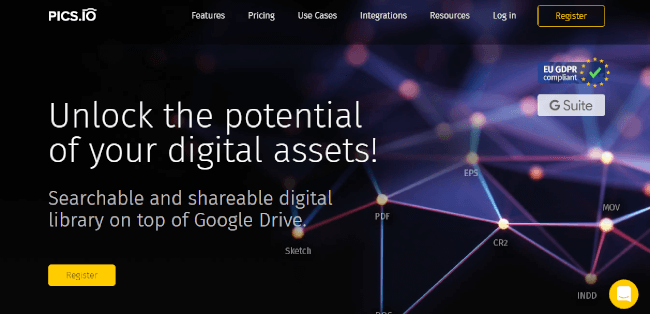 Mopinion: Top 20 Digital Asset Management (DAM) Software - Pics io