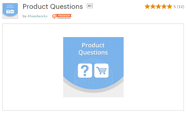 Mopinion: Top 10 Magento User Feedback Extensions  - Product Questions