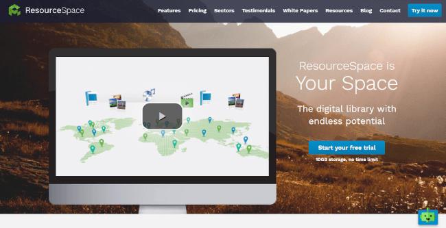Mopinion: Top 20 Digital Asset Management (DAM) Software - ResourceSpace