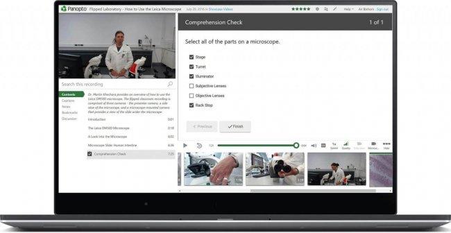 Panopto digital asset management software