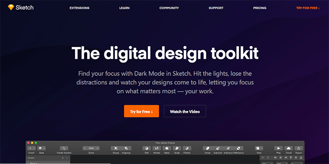 Mopinion: Top 20 Design & Wireframing Tools: An Overview