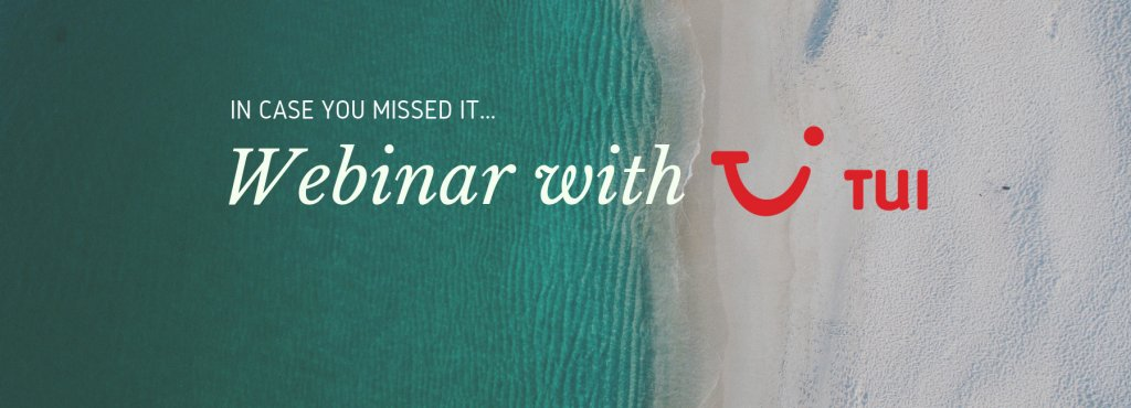 Mopinion: Missed our webinar with major travel organisation TUI? - Cover