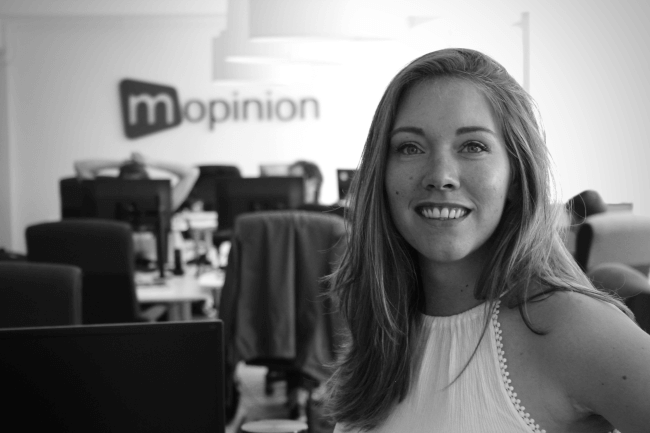 Mopinion: Employee in the Spotlight: Thiara Beijl - Thiara in Office