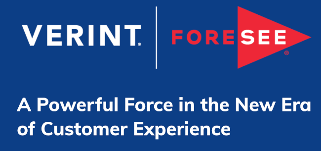 Mopinion: The State of Customer Experience (CX): What's happening now? - Verint Acquires ForeSee