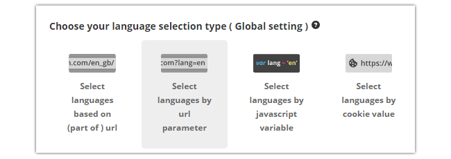 Mopinion: Introducing our new feedback form translation feature - Language Selection