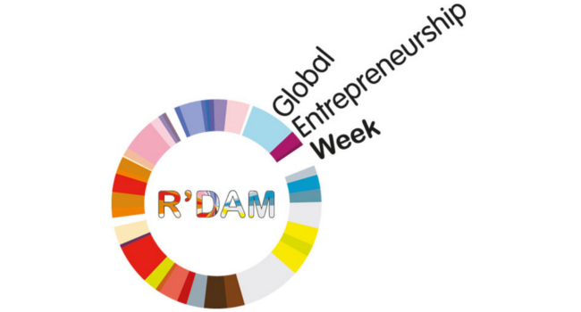 Mopinion: Mopinion to participate in Rotterdam Global Entrepreneurship Week - GEW Logo