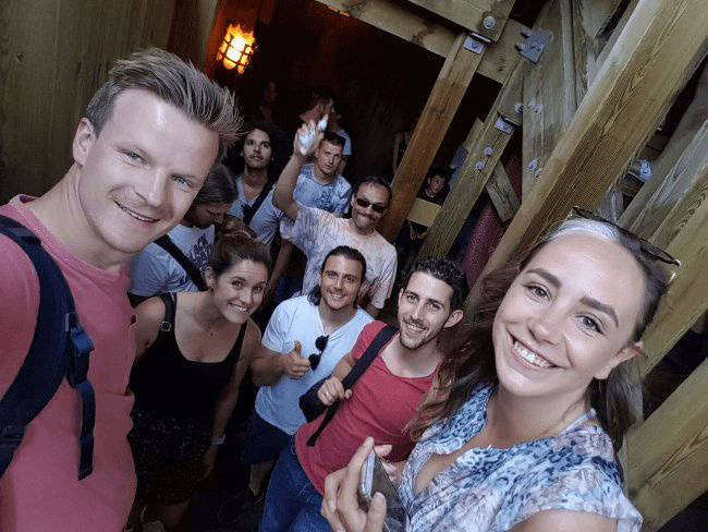 Mopinion: Mopinion heads to the Efteling for its annual SummerJam! - Waiting