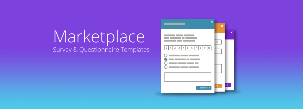 Survey Template Marketplace Feature Image