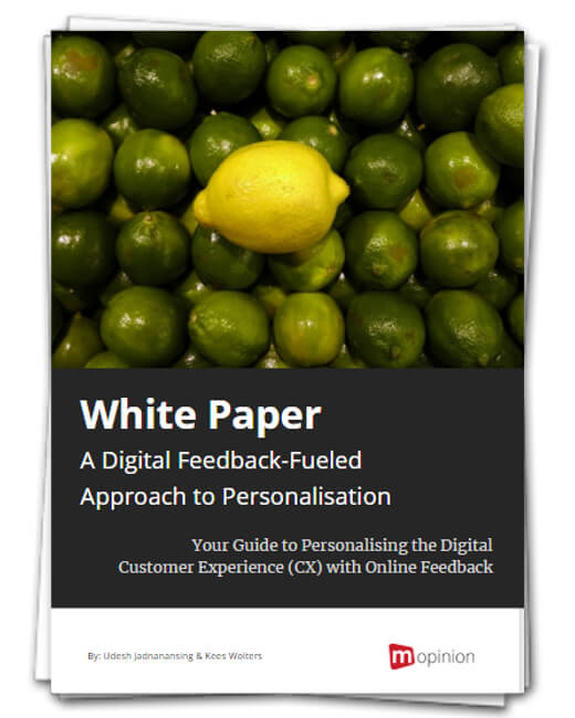 White paper - Digital Feedback-Fueled Approach to Personalisation 2018