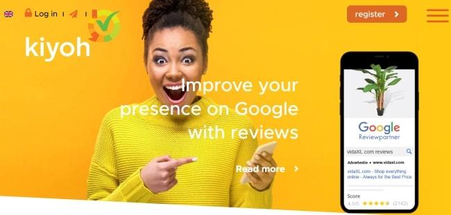 Kiyoh customer feedback