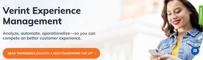 Verint Experience Management software