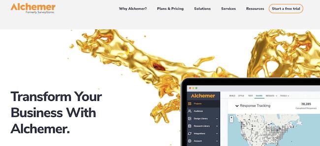 Voice of the customer survey tool - Alchemer