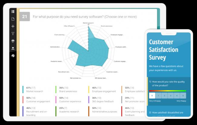 KwikSurveys online survey software