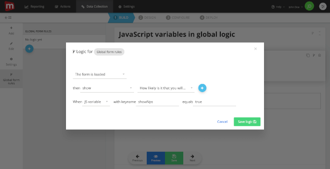 Mopinion: September Product Update: new security measures and a sneak peek into the new user interface - JS logic