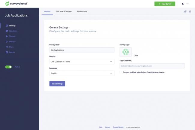 SurveyPlanet online survey software