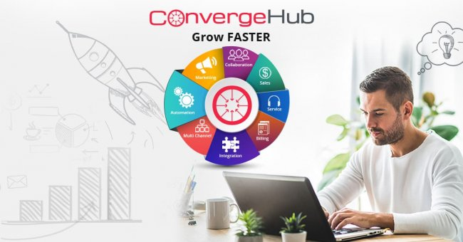 ConvergeHub CRM for small businesses