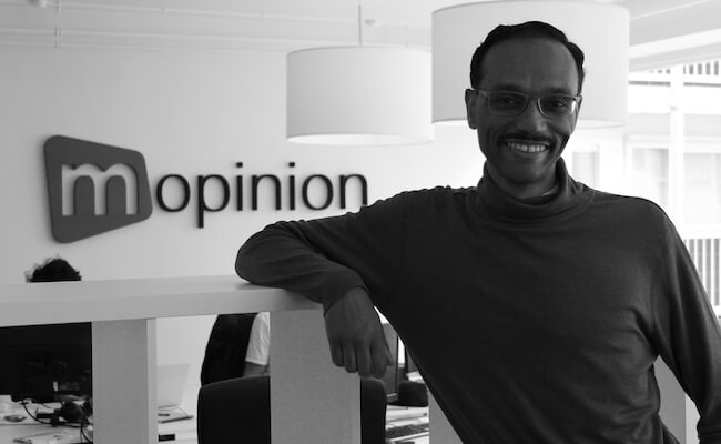 Mopinion: Employee in the Spotlight: Kees van Welsenis - Professor Eric Laithwaite