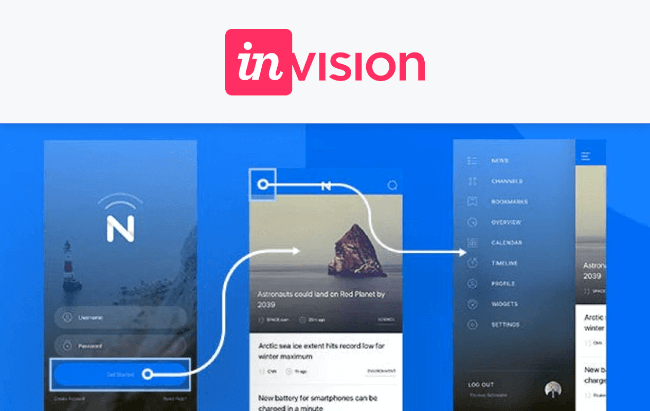 Mopinion: Top 15 Mobile App Wireframing & Mockup Tools - Invision