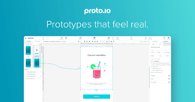 Mopinion: Top 15 Mobile App Wireframing & Mockup Tools - Proto.io