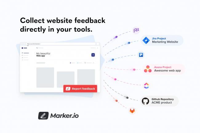Marker.io customer feedback