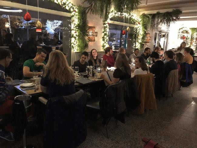 Winterjam-Dinner