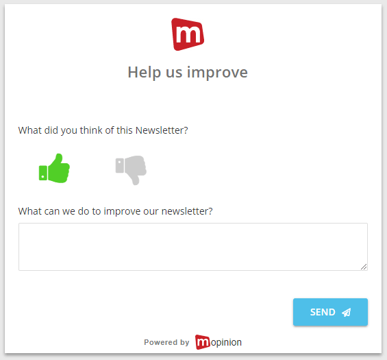 Mopinion: 7 Techniques for Driving More Traffic to Your E-Commerce Website - Email survey