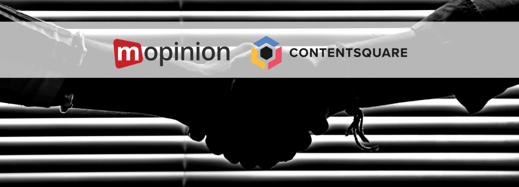 Mopinion and Contentsquare partner up to provide the ultimate digital experience insights- Cover Image