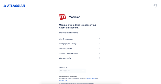 Mopinion: Mopinion integrates with Atlassian's issue tracking tool JIRA - Access Atlassian