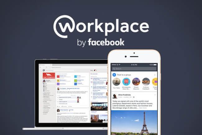 De 11 beste Team Chat tools voor thuiswerken - Facebook Workplace