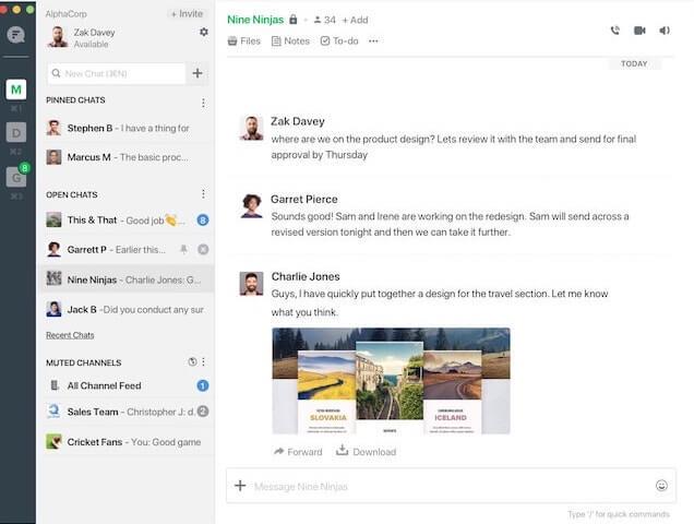 De 11 beste Team Chat tools voor thuiswerken - Flock