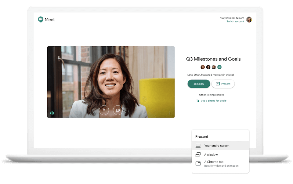 Mopinion: Top 10 Best Video Conferencing Software for Remote Workers - GoogleMeet