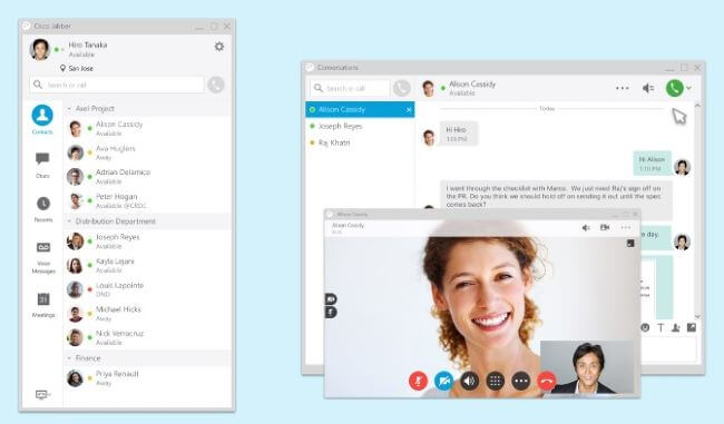 Top 10 Best Video Conferencing Software for Remote Workers - Cisco Jabber