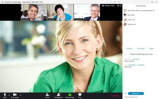 Top 10 Best Video Conferencing Software for Remote Workers - RingCentral Meetings