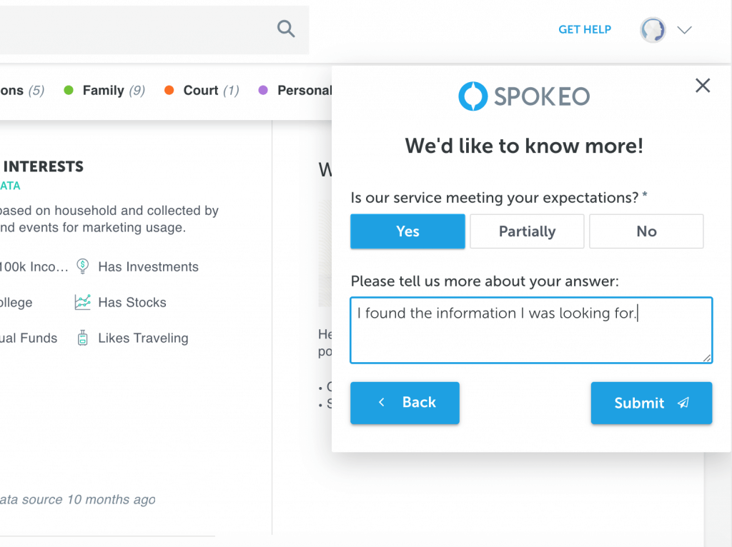 Mopinion: Customer Story: How has Spokeo's VoC program progressed? - User Success