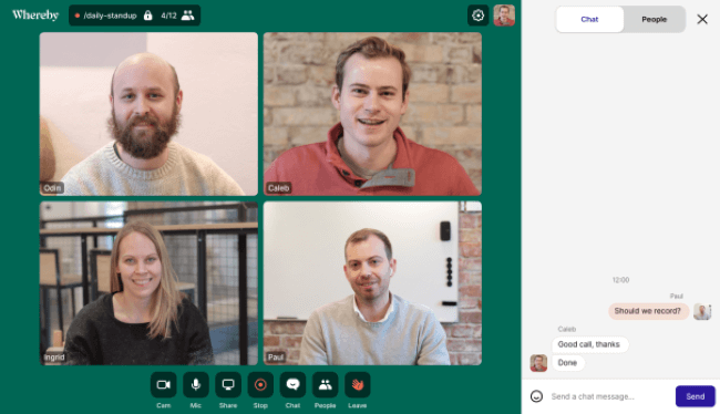 Top 10 Best Video Conferencing Software for Remote Workers - Whereby
