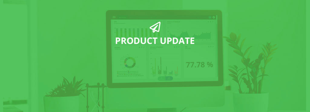 July Product Update: brand new survey flow, single sign-on, Salesforce integration and more - Cover