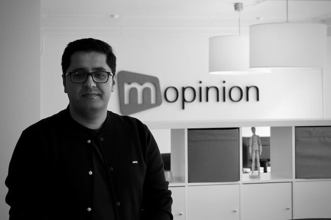 Employee in the Spotlight: Mohamad Haroon at the office