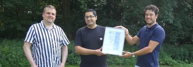 Haroon ISO certificate
