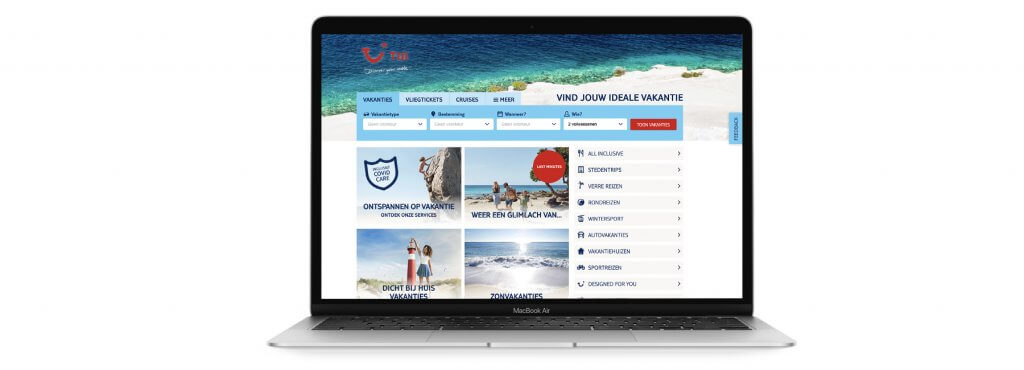 How TUI leverages online customer feedback