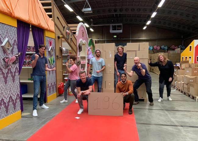 Mopinion team at Stichting Jarige Job