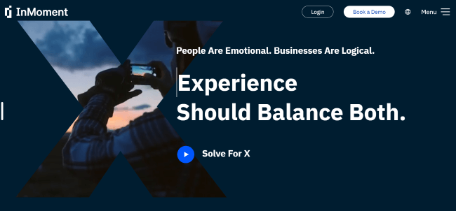 InMoment CX Software